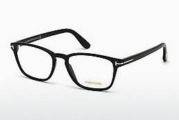 Óculos de design Tom Ford FT5355 001 - Preto, Shiny