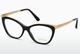 Óculos de design Tom Ford FT5374 001 - Preto