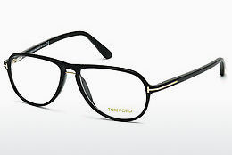 Óculos de design Tom Ford FT5380 001 - Preto, Shiny