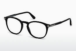 Óculos de design Tom Ford FT5401 001 - Preto, Shiny