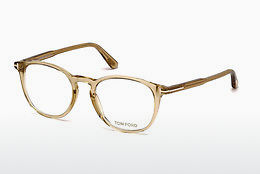 Óculos de design Tom Ford FT5401 045 - Castanho, Bright, Shiny