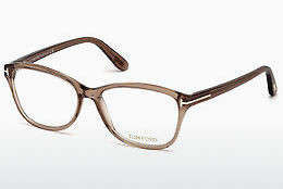 Óculos de design Tom Ford FT5404 048 - Castanho, Dark, Shiny