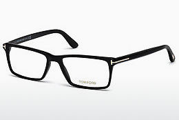 Óculos de design Tom Ford FT5408 001 - Preto, Shiny