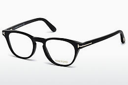 Óculos de design Tom Ford FT5410 001 - Preto, Shiny