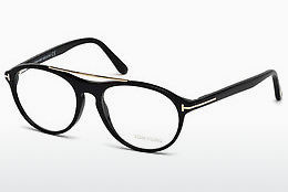 Óculos de design Tom Ford FT5411 001 - Preto, Shiny