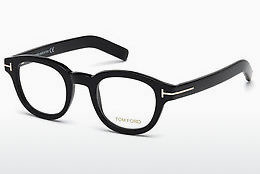 Óculos de design Tom Ford FT5429 001 - Preto, Shiny