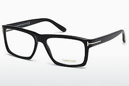 Óculos de design Tom Ford FT5434 001 - Preto, Shiny