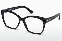 Óculos de design Tom Ford FT5435 001 - Preto, Shiny