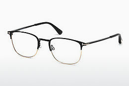 Óculos de design Tom Ford FT5453 002 - Preto, Matt