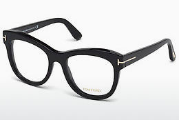 Óculos de design Tom Ford FT5463 001 - Preto, Shiny