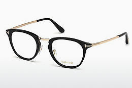 Óculos de design Tom Ford FT5466 001 - Preto, Shiny
