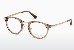 Óculos de design Tom Ford FT5467 045 - Castanho, Bright, Shiny