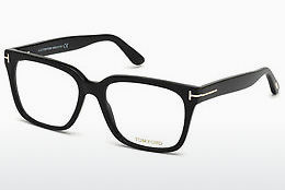 Óculos de design Tom Ford FT5477 001 - Preto, Shiny