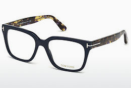 Óculos de design Tom Ford FT5477 090 - Azul, Shiny