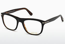 Óculos de design Tom Ford FT5480 001 - Preto, Shiny