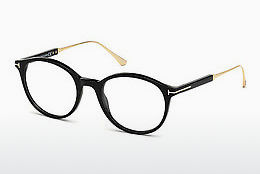 Óculos de design Tom Ford FT5485 001 - Preto, Shiny