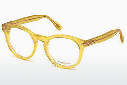 Óculos de design Tom Ford FT5489 041 - Amarelo