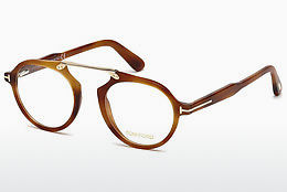 Óculos de design Tom Ford FT5494 053 - Havanna, Yellow, Blond, Brown