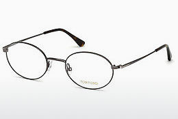 Óculos de design Tom Ford FT5502 008 - Cinzento, Shiny