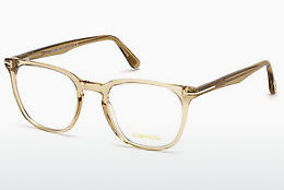Óculos de design Tom Ford FT5506 045 - Castanho, Bright, Shiny