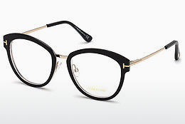 Óculos de design Tom Ford FT5508 003 - Preto, Transparent