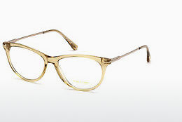 Óculos de design Tom Ford FT5509 045 - Castanho, Bright, Shiny