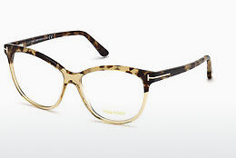 Óculos de design Tom Ford FT5511 059 - Corno, Beige, Brown