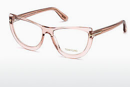 Óculos de design Tom Ford FT5519 072 - Dourado, Rosa