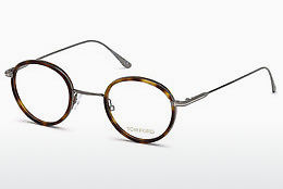 Óculos de design Tom Ford FT5521 053 - Havanna, Yellow, Blond, Brown