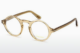 Óculos de design Tom Ford FT5526 045 - Castanho, Bright, Shiny