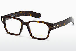 Óculos de design Tom Ford FT5527 052 - Castanho, Dark, Havana