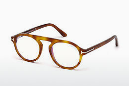 Óculos de design Tom Ford FT5534-B 053 - Havanna, Yellow, Blond, Brown