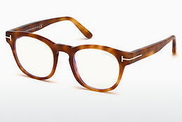 Óculos de design Tom Ford FT5543-B 053 - Havanna, Yellow, Blond, Brown