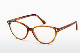Óculos de design Tom Ford FT5545-B 053 - Havanna, Yellow, Blond, Brown