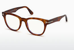 Óculos de design Tom Ford FT5560-B 053 - Havanna, Yellow, Blond, Brown
