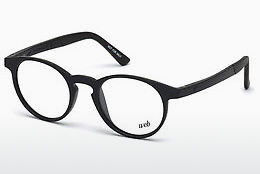 Óculos de design Web Eyewear WE5186 001 - Preto, Shiny