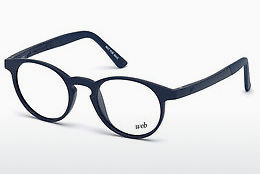 Óculos de design Web Eyewear WE5186 090 - Azul, Shiny