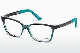 Óculos de design Web Eyewear WE5188 089 - Azul, Turquoise