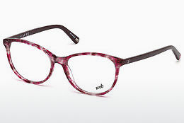 Óculos de design Web Eyewear WE5214 A54 - Havanna, Red