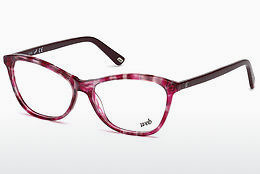 Óculos de design Web Eyewear WE5215 054 - Havanna, Red