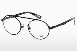 Óculos de design Web Eyewear WE5220 002 - Preto, Matt