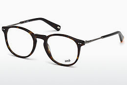 Óculos de design Web Eyewear WE5221 052 - Castanho, Dark, Havana