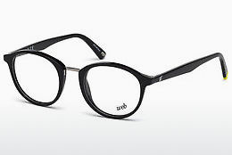Óculos de design Web Eyewear WE5222 001 - Preto, Shiny