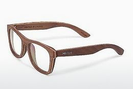 Óculos de design Wood Fellas Stachus II (10718-2 walnut)