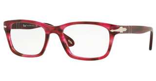 Persol PO3012V 1084 STRIPPED RED
