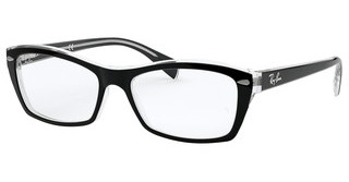 Ray-Ban RX5255 2034 TOP BLACK ON TRANSPARENT