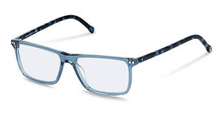 Rocco by Rodenstock RR437 B blue transparent, blue structured