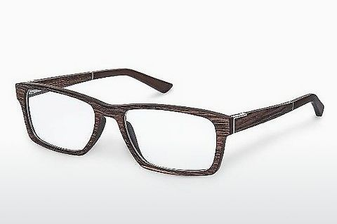Óculos de design Wood Fellas Maximilian (10901 ebony)