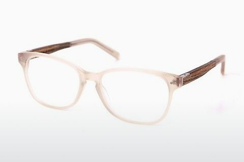 Óculos de design Wood Fellas Sendling Premium (10937 walnut/gold)