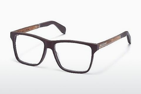 Óculos de design Wood Fellas Kaltenberg (10940 zebrano)